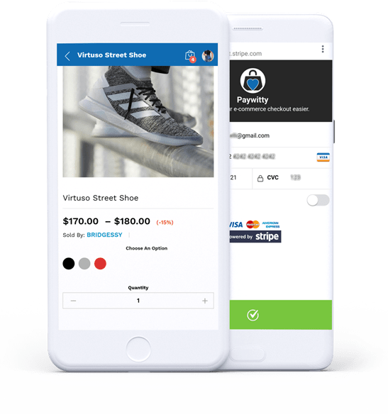 Paywitty - Sell right within Instagram